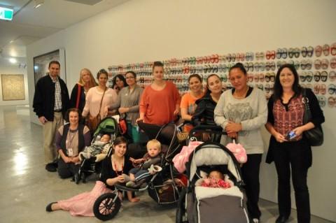 Ngala Nanga Mai pARenT Group visit the Museum of Contemporary Art