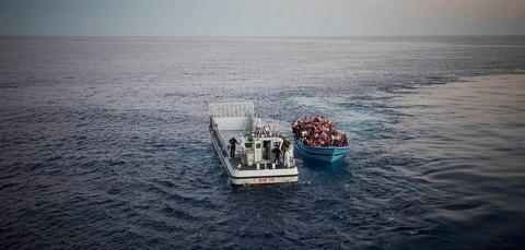 UNHCR boat