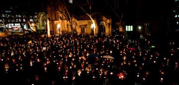 Light the Dark candlelit vigil