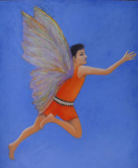 Gender fairy character