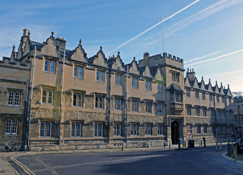 Oxford - Oriel College. Tejvan Pettinger/Flickr.